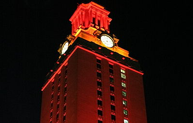 times of texas  ut tower
