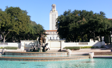 ut campus  freeze tuition in effect for two years.   times of texas